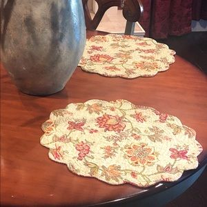 3 reversible lots placemats (quilt like)